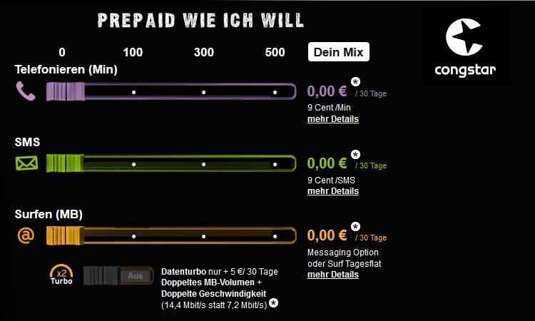 Congstar Spendiert Messaging Flat Zu Neuem Prepaid Tarif