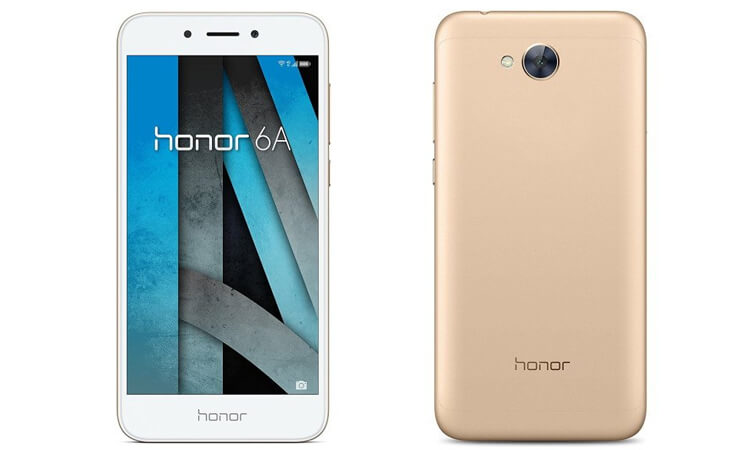 Honor 6A Gold