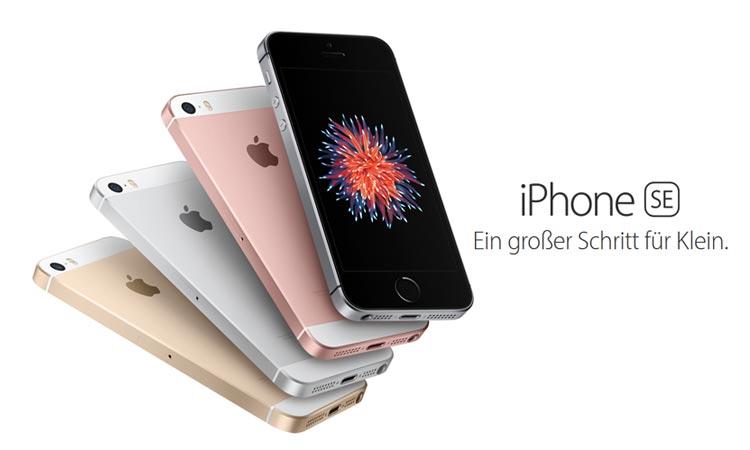 iphone se das neue 4 zoll smartphone von apple im check. Black Bedroom Furniture Sets. Home Design Ideas