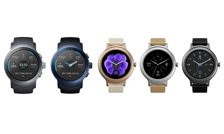 lg pr sentiert smartwatches mit android wear 2 0. Black Bedroom Furniture Sets. Home Design Ideas