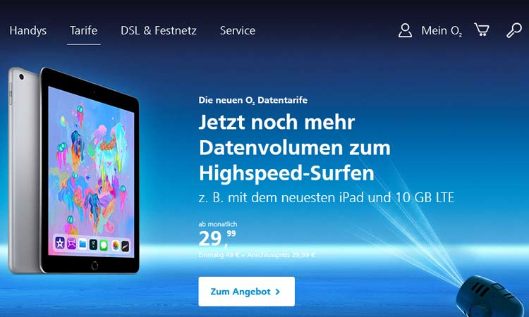 O2 My Data Neue Datentarife Ab Sofort Mit Weitersurf Garantie