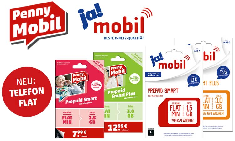 Pennymobil Jamobil Ab Sofort Mit Kostenloser Telefon Flat