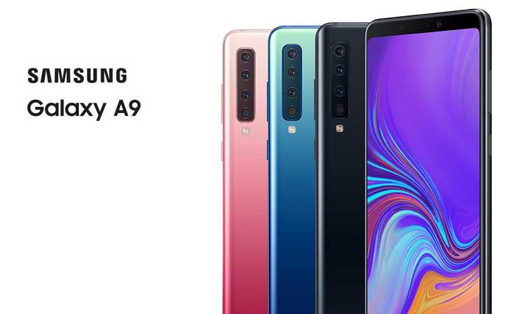 Stellen Vor Samsung A7Die Galaxy A9 Sich Kamera Und Giganten OwP0k8nX