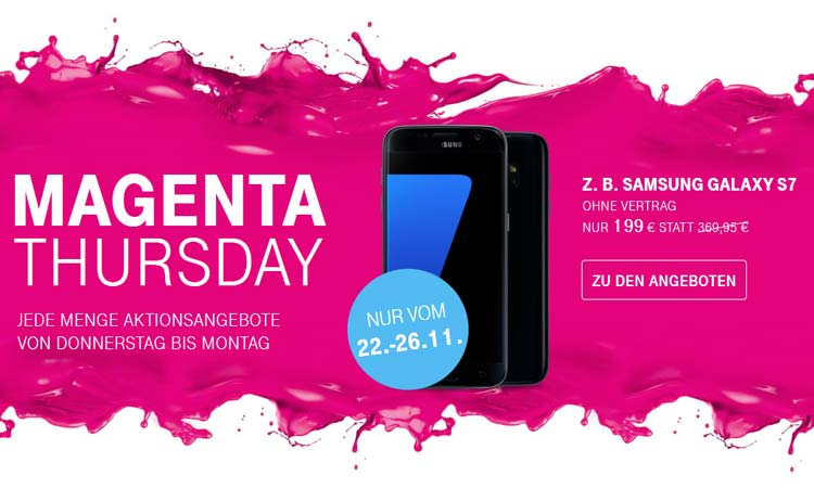 Bis 2611telekom Ruft Magenta Thursday Mit Smartphone Rabatten Aus