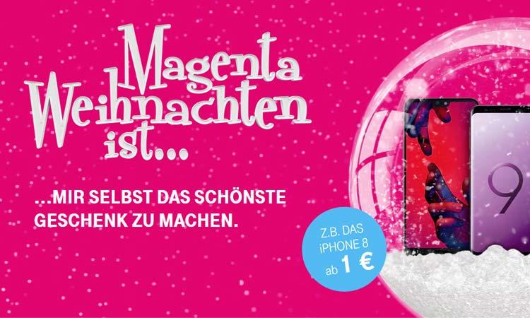 Telekom Magenta Weihnachten Viele Top Smartphones Für 1 Euro