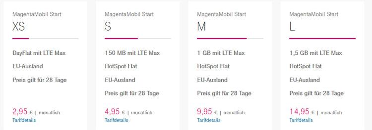 Telekom spendiert mehr Volumen zu Prepaid Tarifen