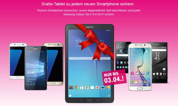 bis samsung tablet gratis zum telekom magenta. Black Bedroom Furniture Sets. Home Design Ideas