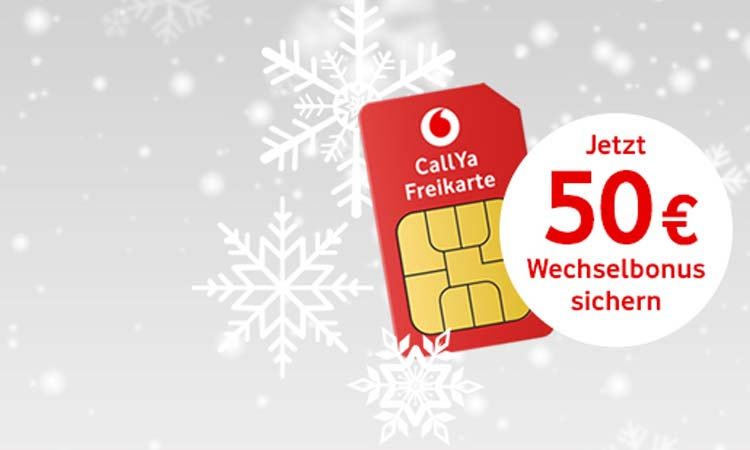 Vodafone Prepaid Jetzt Mit 50 Euro Bonus Bei Rufnummernmitnahme
