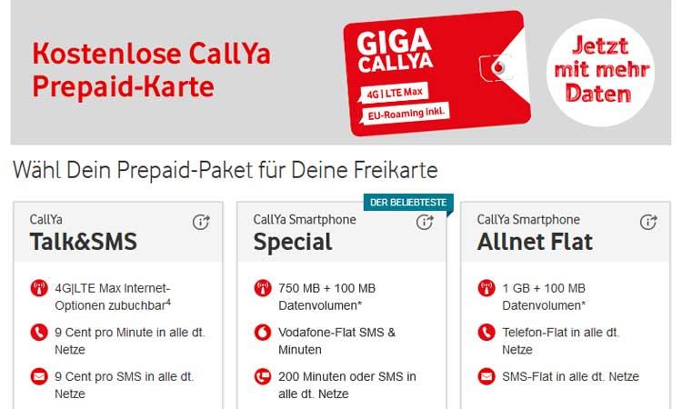 Vodafone Tarife Prepaid Wechseln