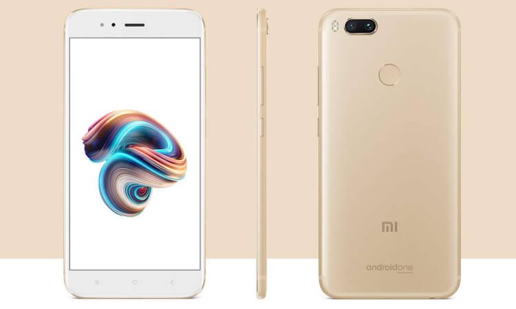 Xiaomi Mi A1 in Gold