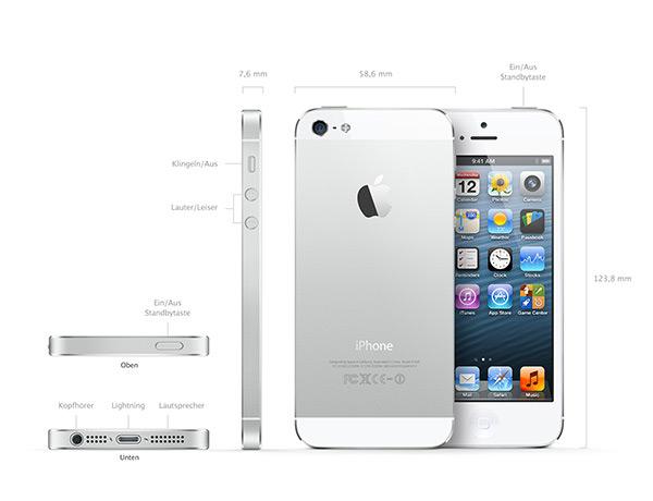 iphone 5 infos zum apple iphone 5 und iphone 5 angebote. Black Bedroom Furniture Sets. Home Design Ideas