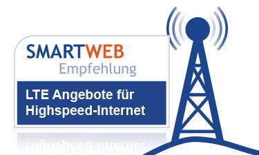 Teaser LTE Angebote des Monats Smartweb