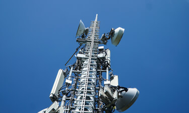 Mobilfunkmast von Vodafone (Quelle: Vodafone)