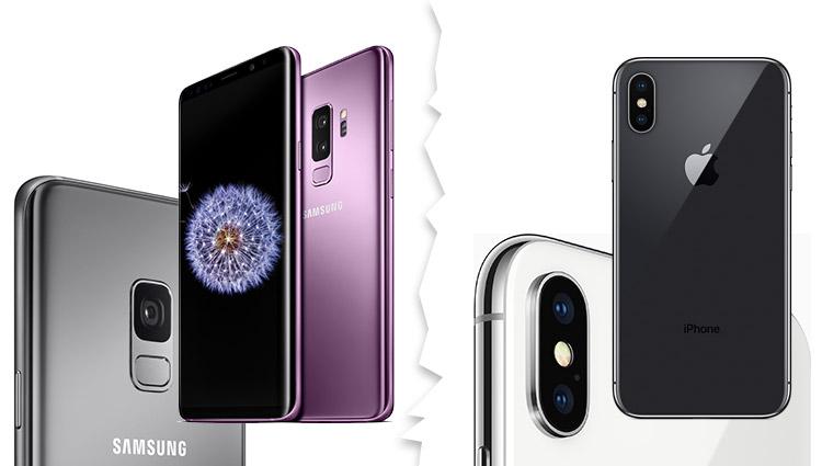 Samsung Galaxy S9 Kamera + iPhone X Kamera im Vergleich