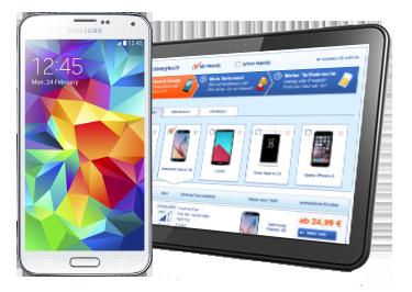 Handytarifvergleich mit Samsung Galaxy S5
