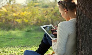 Tablet outdoor