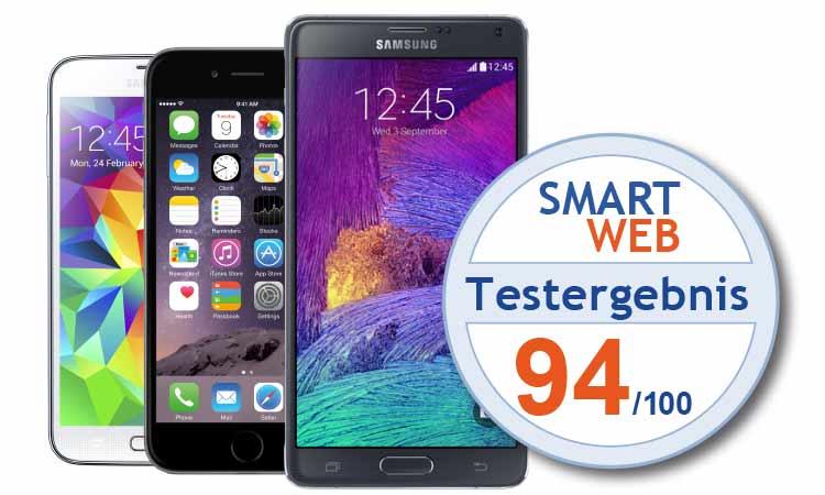 Teaser Smartphones Test