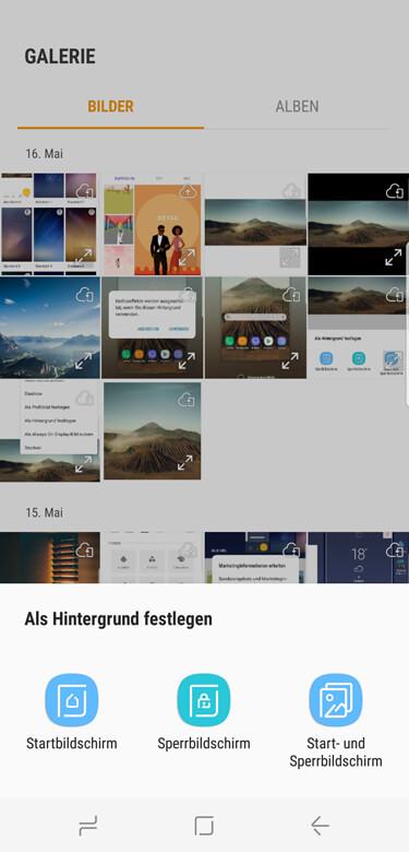 Samsung handy hintergrundbild loschen