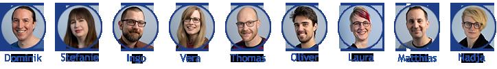 das SmartWeb Team - Redaktion und Technik