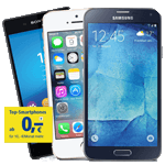 Top-Smartphones zur 1&1 All-Net-Flat