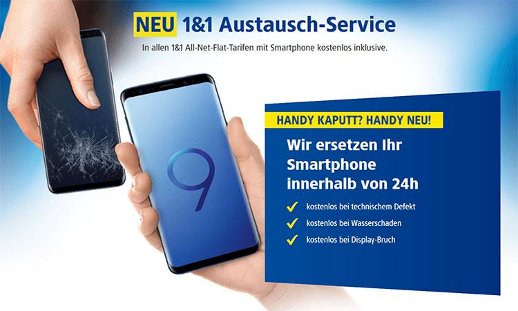 1&1 Austausch-Service