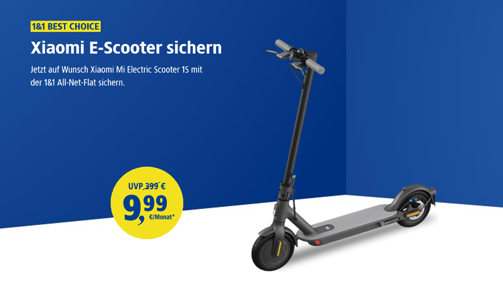 SoFlow E-Scooter bei 1&1