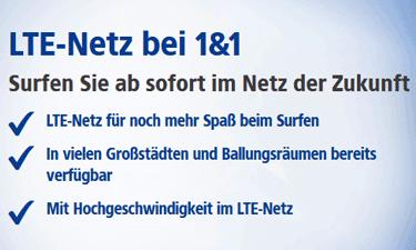 Vorteile bei 1&1 LTE
