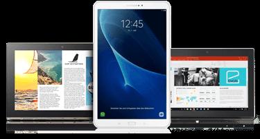 1 1 tablet flat mobile internet flat f r tablet pcs wie. Black Bedroom Furniture Sets. Home Design Ideas