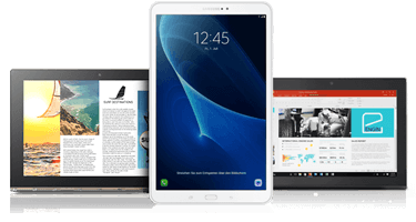 1&1 Tablet-Flat mit Tablet bestellen