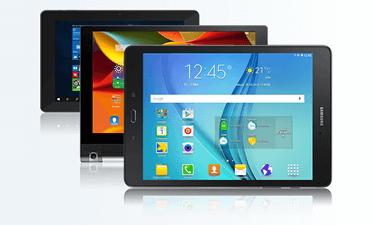Tablets zur 1&1 Tablet Flat
