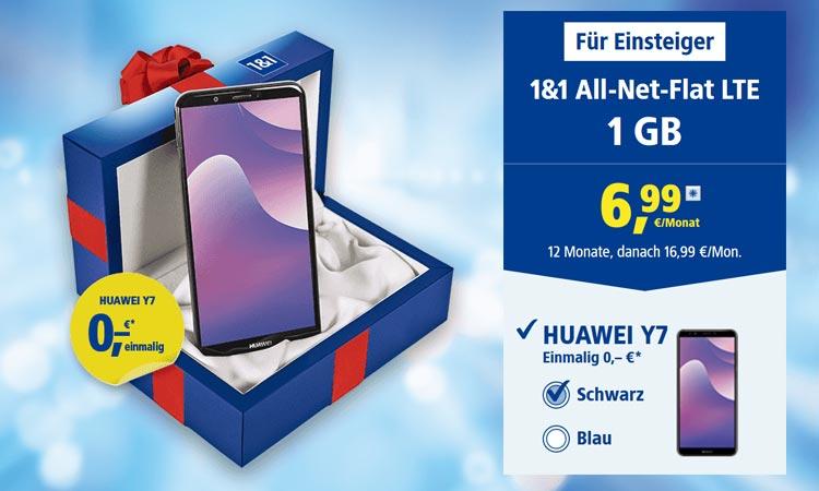 Huawei Y7 bei 1&1