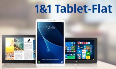Screenshot: 1&1 Tablet Flat im 1&1 Online-Shop