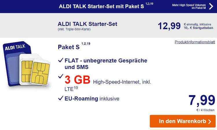 Aldi Talk S Flat