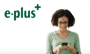 E-Plus LTE Werbebild