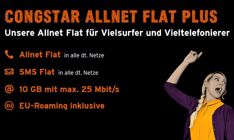 congstar Allnet Flat Plus