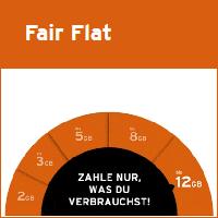 congstar Fair Flat Tarif