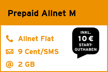 congstar Prepaid Allnet M