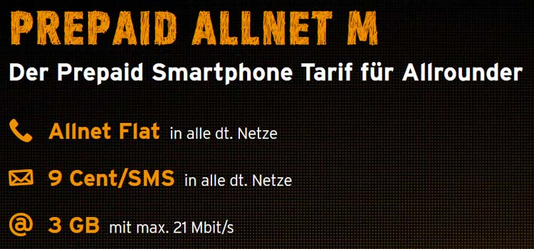 congstar prepaid allnet m mit 2 gb im telekom netz surfen. Black Bedroom Furniture Sets. Home Design Ideas
