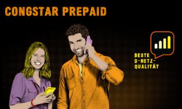 Screenshot Prepaid-Angebot im Congstar Online-Shop
