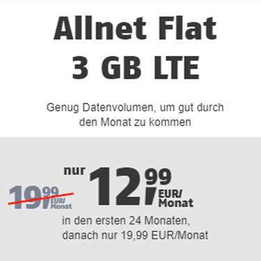 Klarmobil Allnet Flat 3 GB