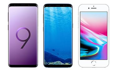 Smartphones bei Klarmobil