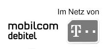 Mobilcom-Debitel im Netz der Telekom - Navigation inaktiv