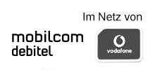 Mobilcom-Debitel im Netz von Vodafone - Navigation inaktiv