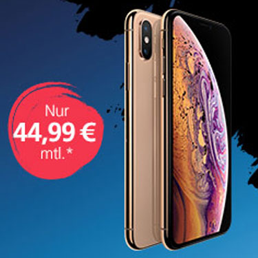 o2 Black Week Angebot: iPhone XS für 44,99 €/Monat