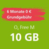 o2 Free Allnet Flat 6 Monate lang gratis