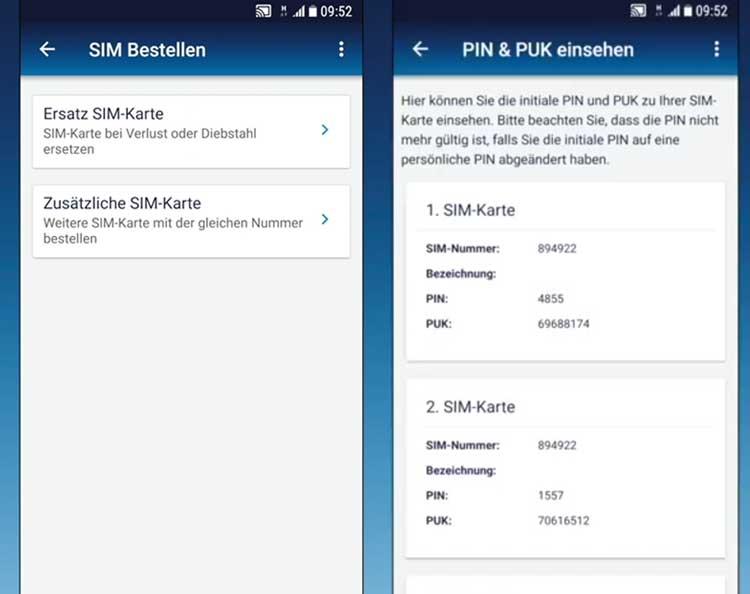 o2 neue sim karte bestellen o2 Free Connect   SIM Karten bestellen und verwalten