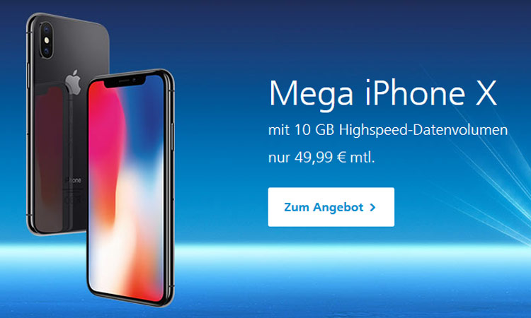 o2 Mega Match iPhone X