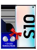 Samsung Galaxy S10 mit Galaxy Buds bei o2