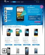o2 Nxt mit Smartphone