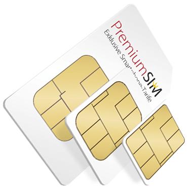 PremiumSIM: SIM-Karten in der Übersicht